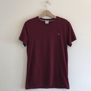 Abercrombie & Fitch | Maroon Muscle Tee